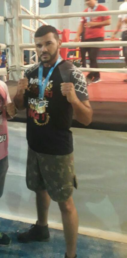 Lutador de Quinta do Sol vence seletiva de Muay Thai no MS