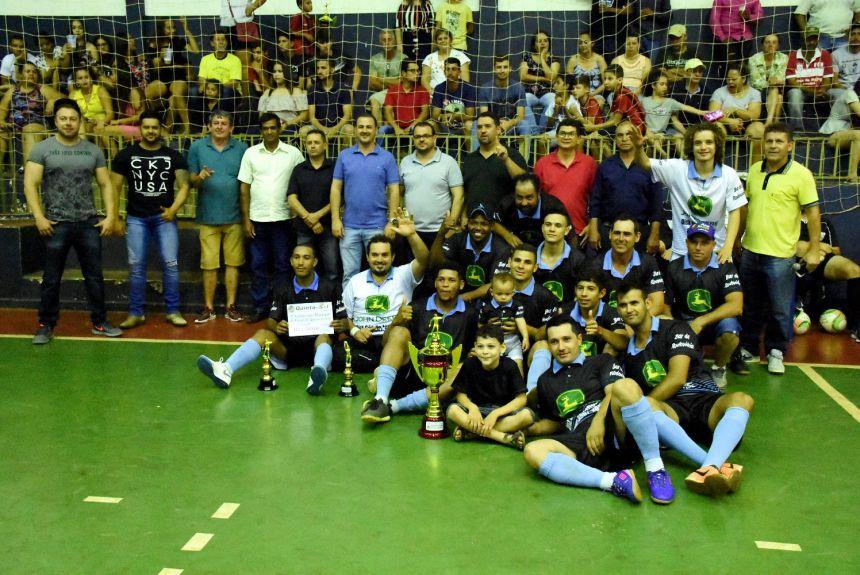 Campeonato de Futsal de Quinta do Sol encerra com 3 grandes finais
