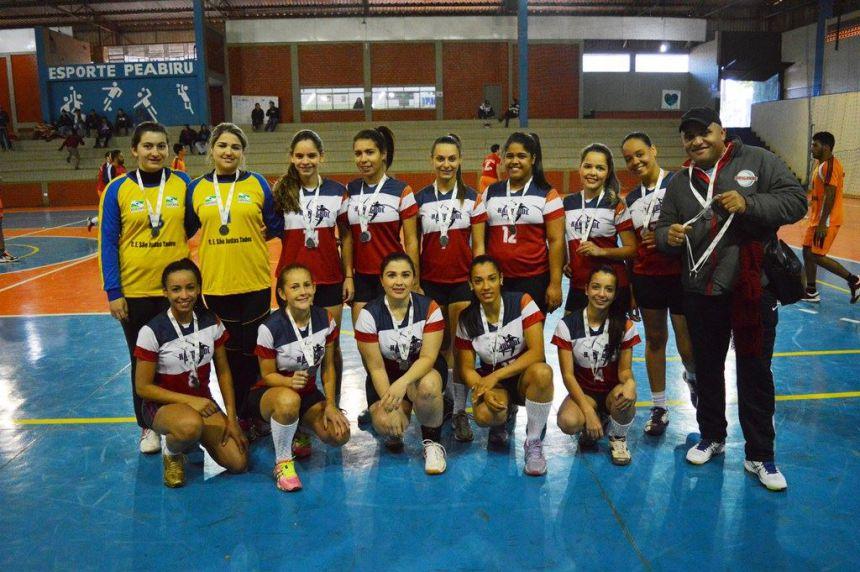 Handebol Feminino de Quinta do Sol é Vice-campeão dos Jogos Abertos