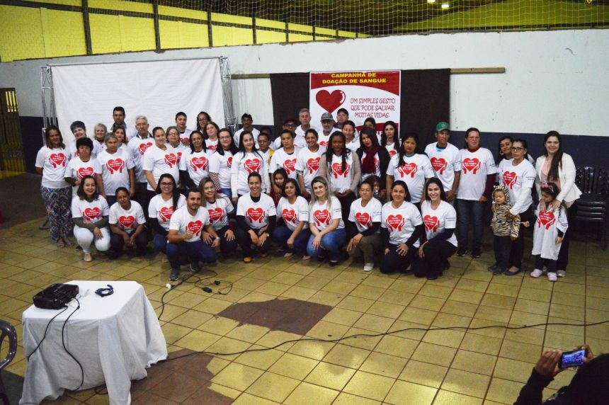 Quinta do Sol homenageia doadores de sangue