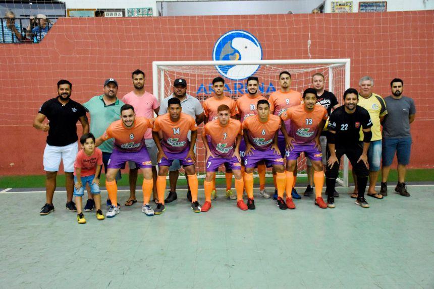 Quinta do Sol é vice-campeão da Copa Regional de Futsal em Araruna