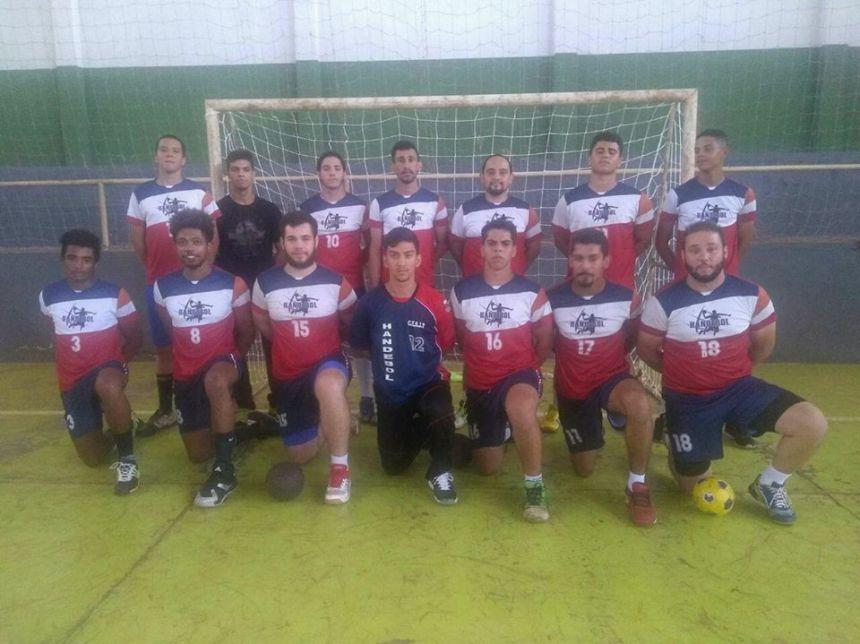 Handebol Masculino de Quinta do Sol fica nas semifinais da Copa Regional de Indianópolis
