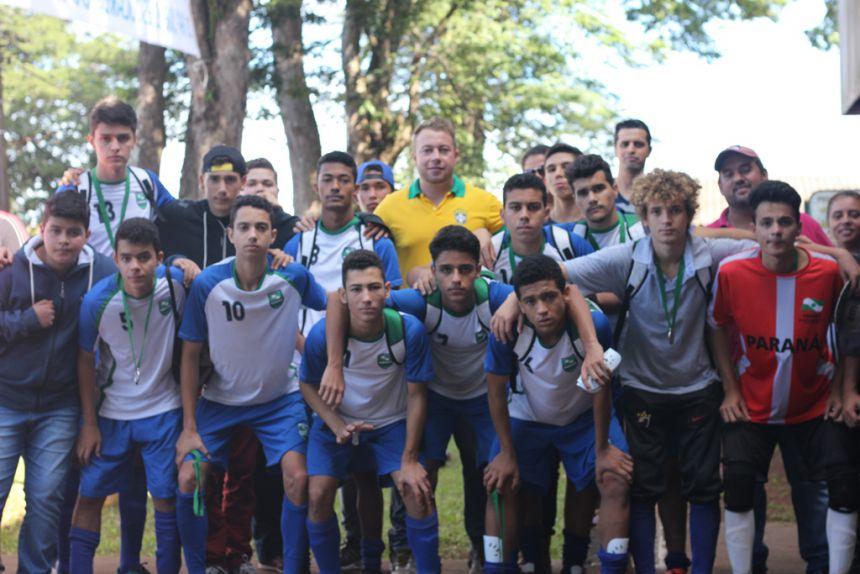 Quinta do Sol é vice-campeã do Futsal Masculino nos Jogos Escolares