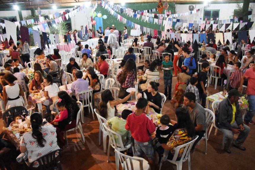 Festa Junina do CRAS de Quinta do Sol promove integração da população