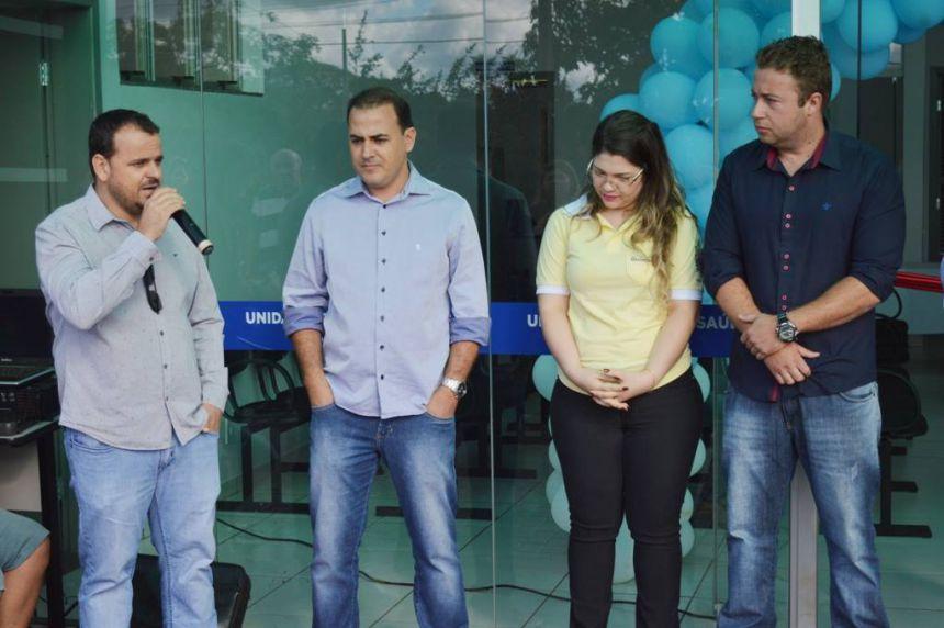 Prefeito João Claudio inaugura UBS Bairro Paineirinha em Quinta do Sol