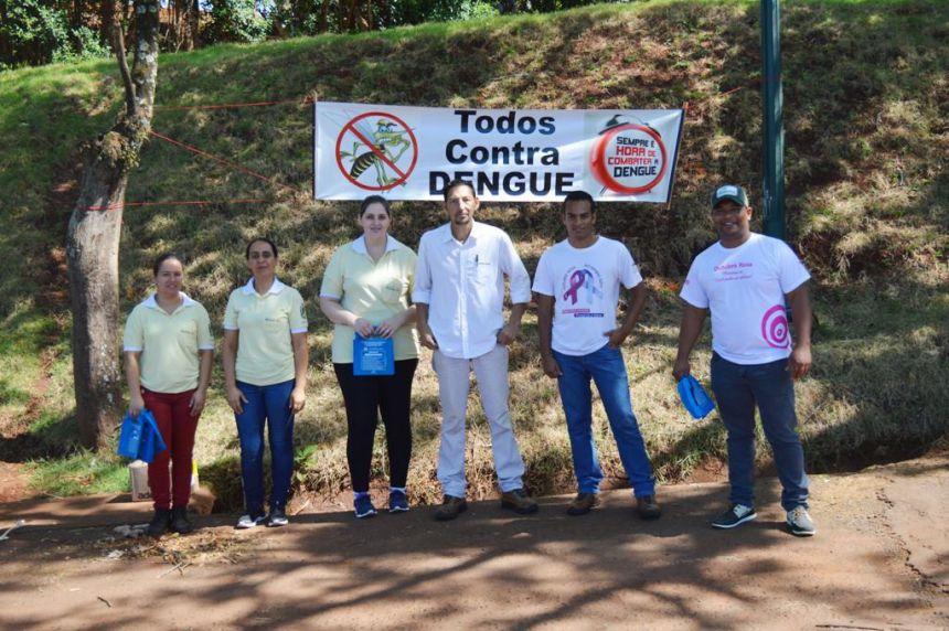 Quinta do Sol realiza pedágio contra a Dengue