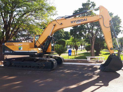 Quinta do Sol recebe uma escavadeira hidráulica