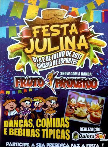 Festa Julina das Escolas agita Quinta do Sol neste fim de semana