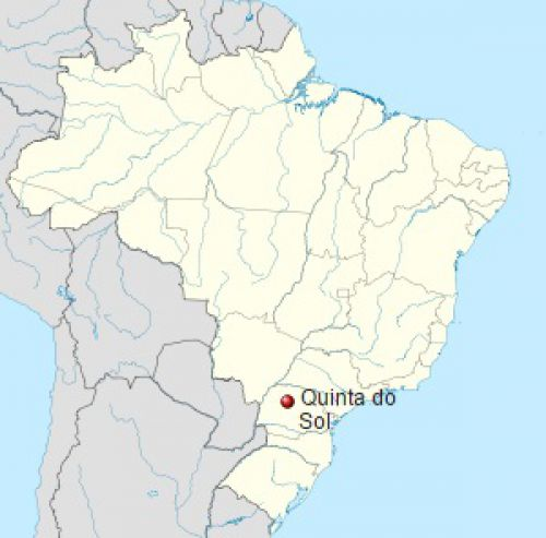 Localização de Quinta do Sol no Brasil