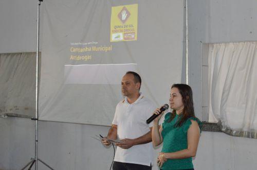 Quinta do Sol encerra Campanha Antidrogas com passeata e show