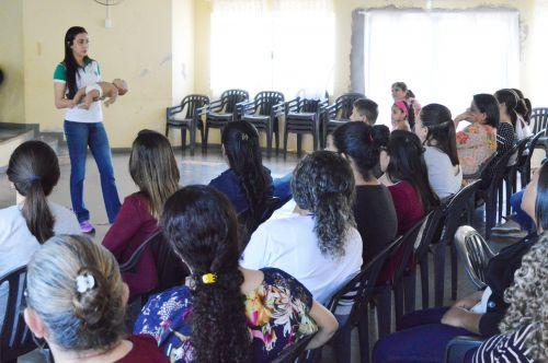 Profissionais da Educação de Quinta do Sol recebem treinamento em primeiros socorros