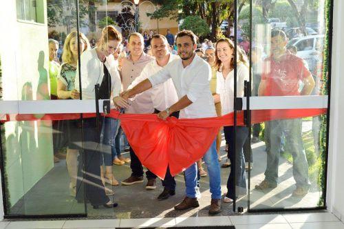 Prefeito João Claudio inaugura UBS Bairro Centro em Quinta do Sol