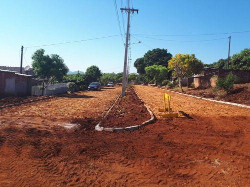 Prefeitura de Quinta do Sol realiza nova obra de pavimentação
