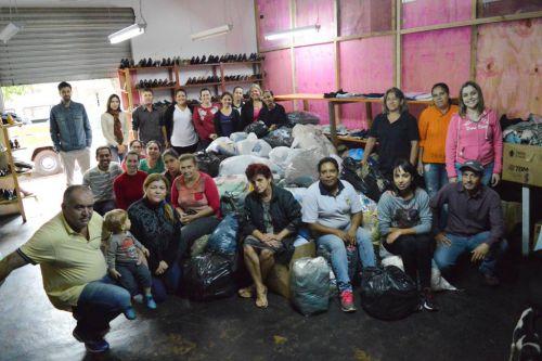 Quinta do Sol arrecada milhares de peças na Campanha do Agasalho 2016