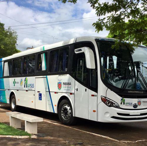 Quinta do Sol recebe ônibus adaptado para Secretaria de Saúde