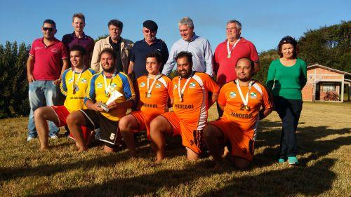Quinta do Sol é campeão de handebol de areia masculino nos Jogos da COMCAM