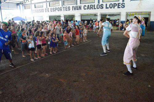 Dia das Crianças com festa em Quinta do Sol
