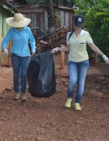 Quinta do Sol mobiliza arrastão para eliminar criadouros do Aedes aegypti