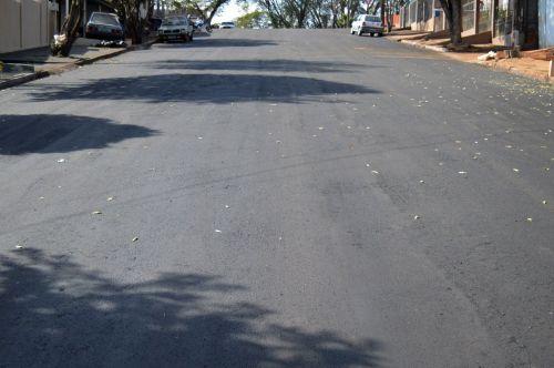 Prefeitura de Quinta do Sol realiza recape asfáltico em diversas ruas da cidade