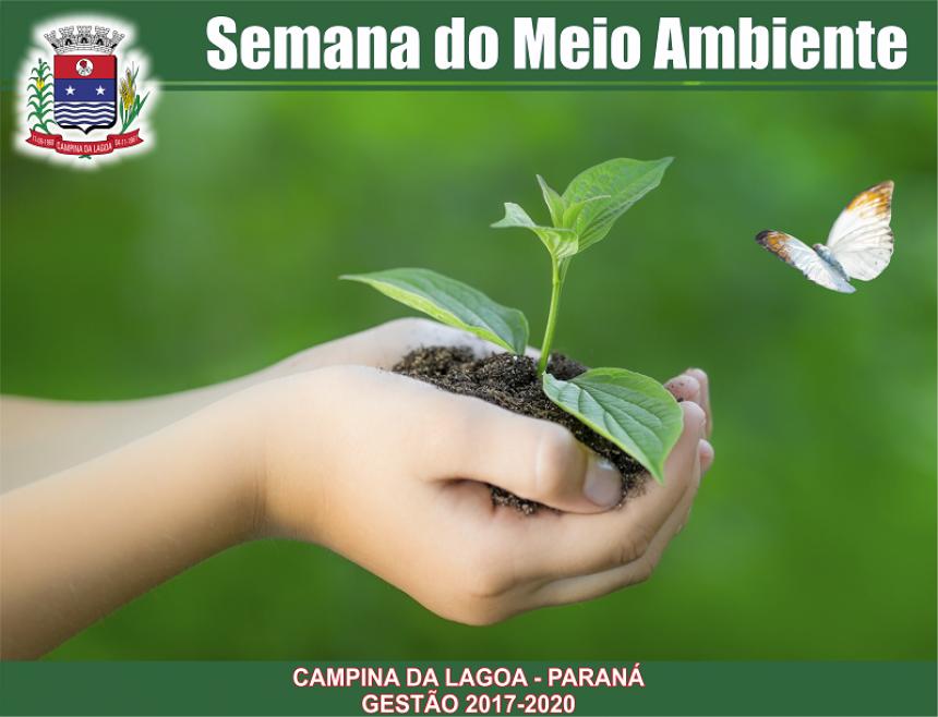 Semana do Meio Ambiente será realizada a partir desta segunda-feira em Campina da Lagoa