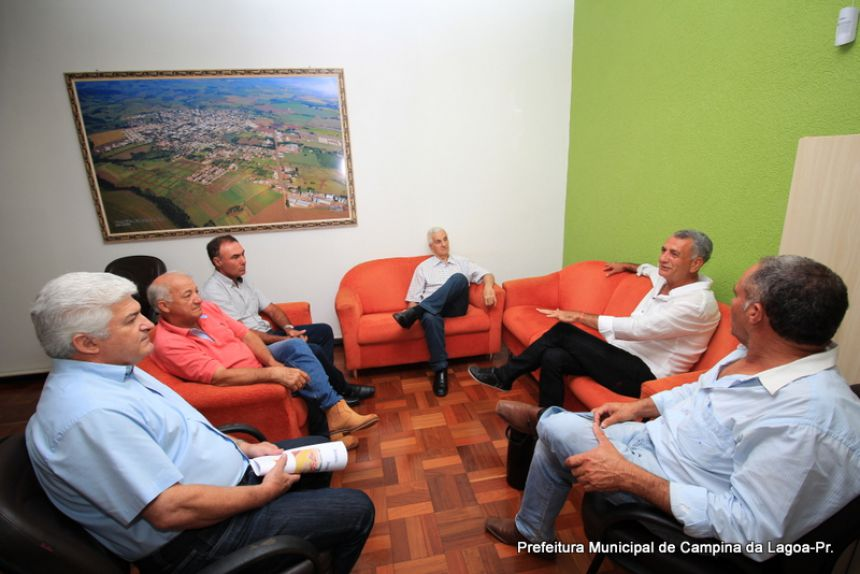 Diretoria da Coagru se reúne com Prefeito de Campina da Lagoa para apresentar planos futuros para o município