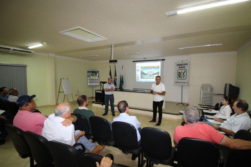 Reunião para Preparação do Plano de Trabalho Integrado em Campina da Lagoa