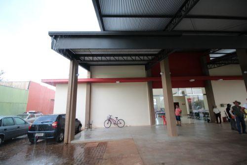 Prédio do Terminal Rodoviário de Campina da Lagoa passa por reparos emergenciais