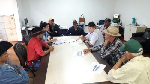 Secretaria de Meio Agricultura e Meio Ambiente se reúne com Produtores e moradores da Água da Campina