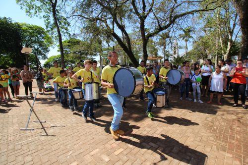 Dia da Independência do Brasil é comemorada na Praça João XXIII em Campina da Lagoa