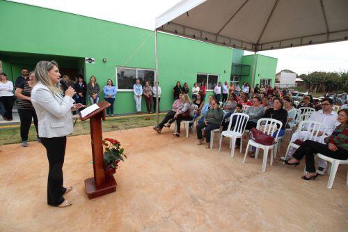 """Inauguração do """"CRAS Vó Tita"""" em Campina da Lagoa"""