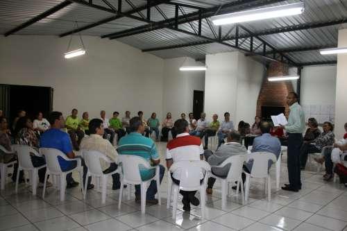 Reuni�o com  representantes de todos os Conselhos Municipais