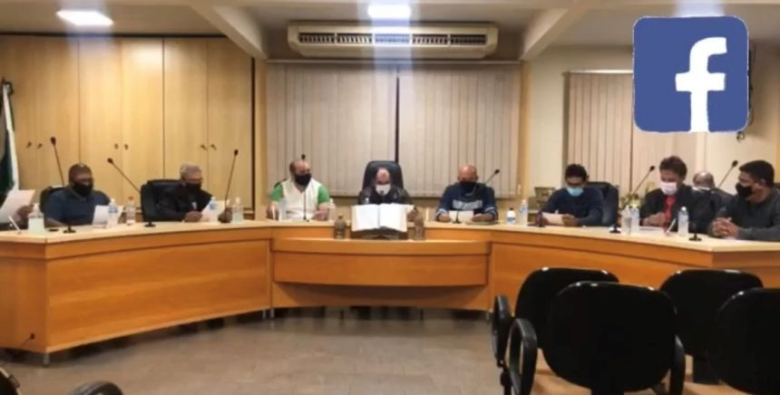 Acompanhe as Transmissões Ao Vivo das Sessões da Câmara Municipal de Planaltina do Paraná pelo Facebook