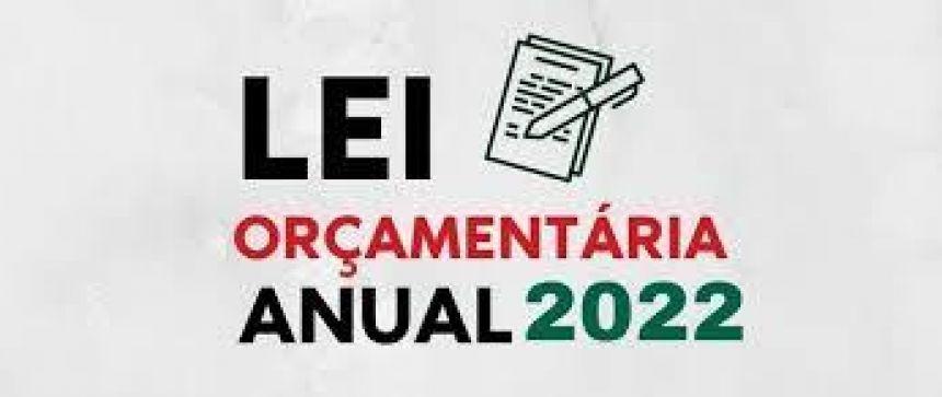 AUDIÊNCIA PÚBLICA, estendida a toda população do Município, com o fim de apresentar e discutir o Projeto da Lei Orçamentária Anual para exercício de 2022.