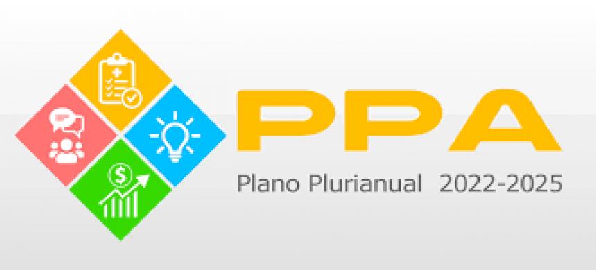 AUDIÊNCIA PÚBLICA, estendida a toda população do Município, com o fim de apresentar e discutir o Projeto da Lei do Plano Plurianual para o quadriênio 2022/2025.