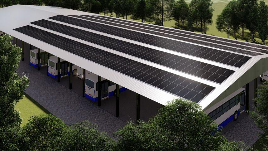 Vereadores analisam Projeto que visa construção do pátio de máquina com sistema de captação de energia.