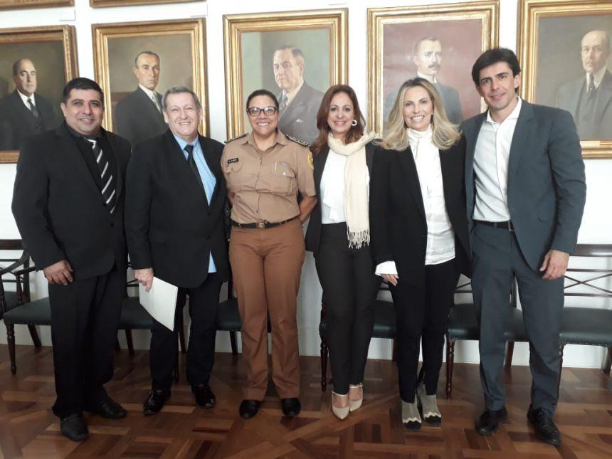 Prefeito e vereadores se reúnem  em Audiência com coronel Chateaubriandense Audilene Rocha