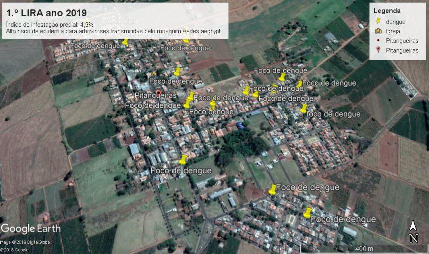 1º LIRA de 2019 (Levantamento de infestação predial por mosquito Aedes aeghypt nos imóveis urbanos)