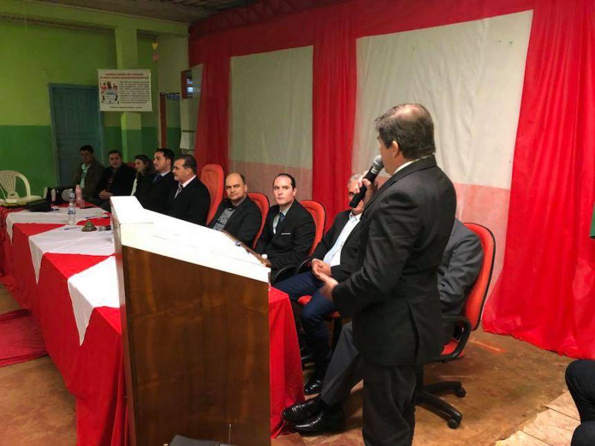 Sessão Solene em Homenagem ao Professor Claudinei Ferreira Gundim