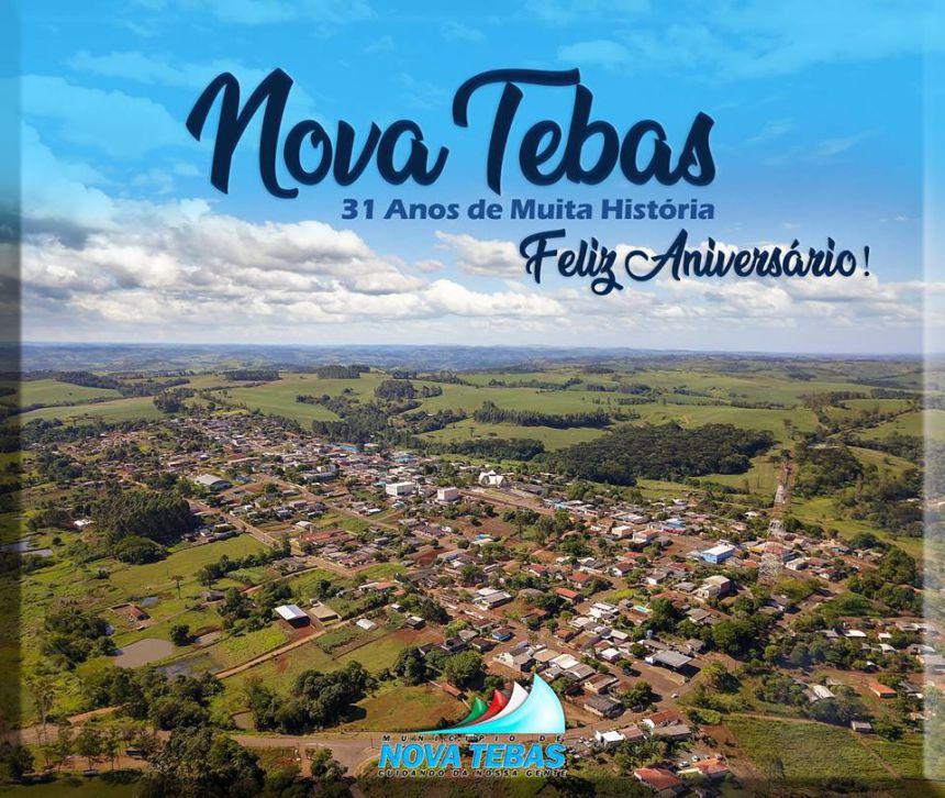 Nova Tebas 31 Anos de Muita História