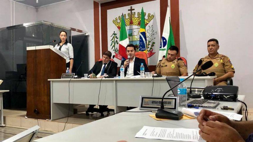 Primeira Audiência Pública Sobre Segurança Pública