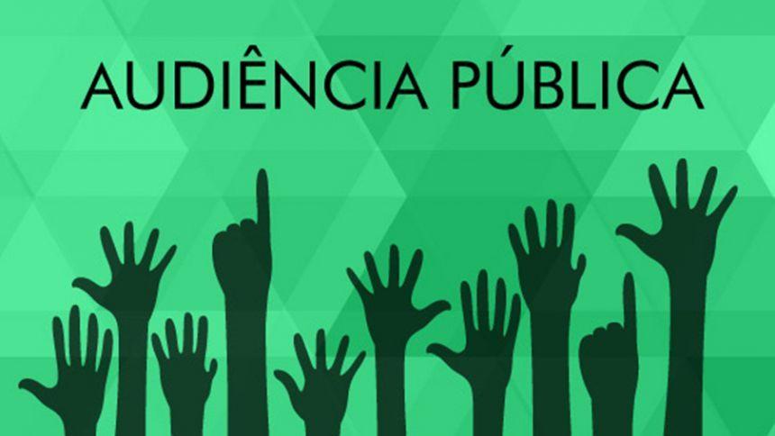 AUDIÊNCIA PÚBLICA - EMENDA AO REGIMENTO INTERNO