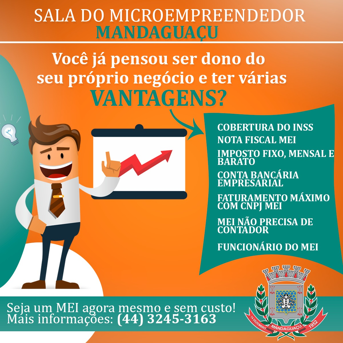 Sala do Empreendedor de Mandaguaçu