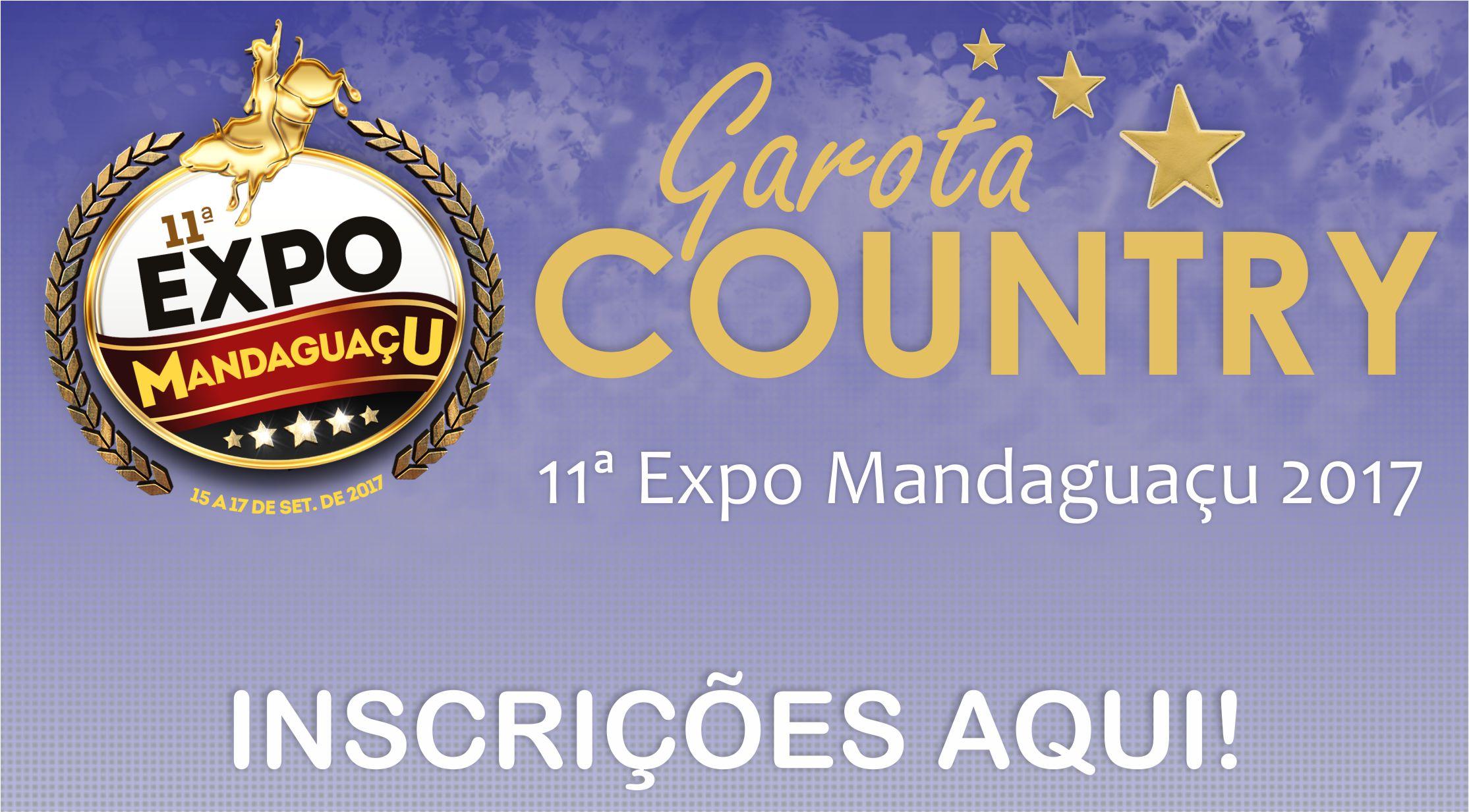 CONCURSO GAROTA CONTRY - 11ª EXPO MANDAGUAÇU 2017