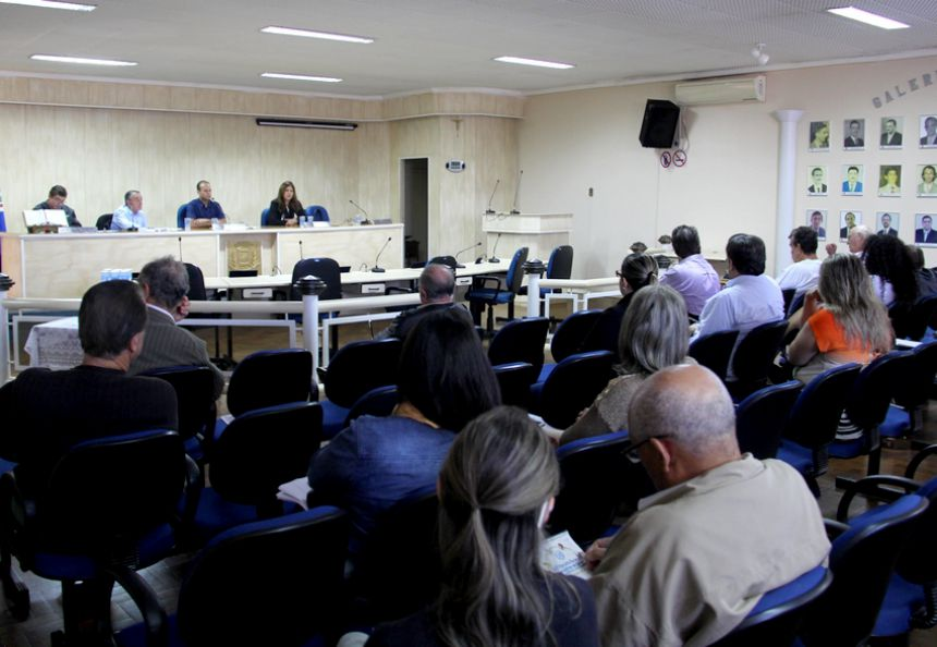 Audiência pública para elaboração da LDO para o exercício do ano de 2017