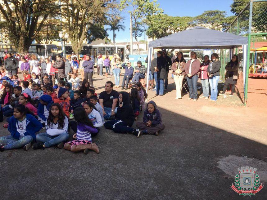 Mandaguaçu combate à exploração sexual de crianças e adolescentes por meio de peça teatral