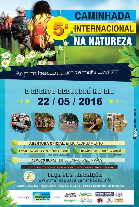 5ª Caminhada Internacional na Natureza ocorre em Mandaguaçu
