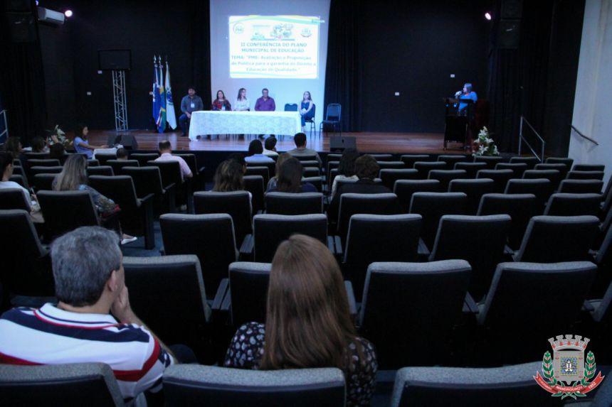 Mandaguaçu realiza Conferência do Plano Municipal de Educação