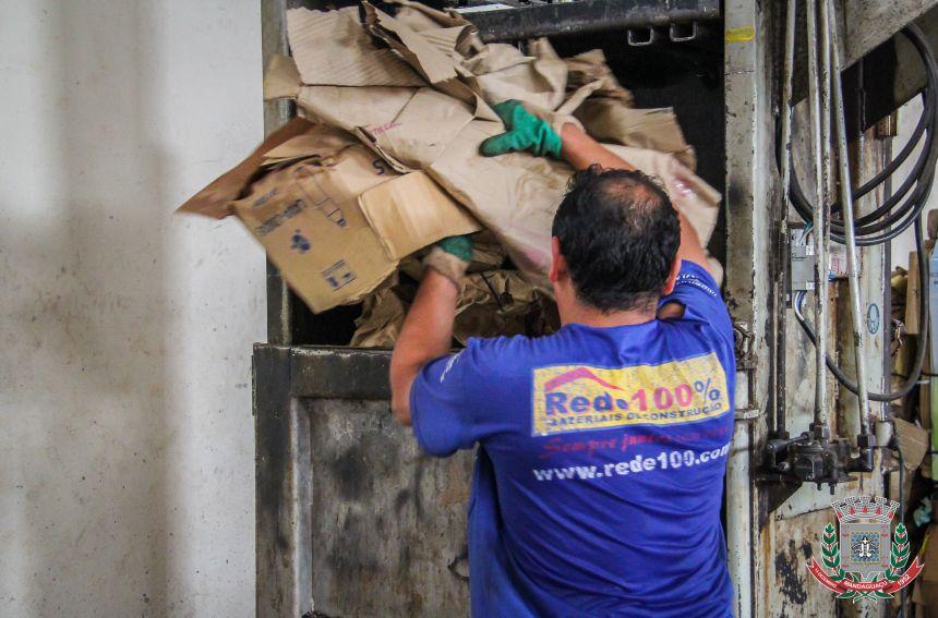 Cooperativa dos Recicladores de Mandaguaçu começa o ano com muitas novidades
