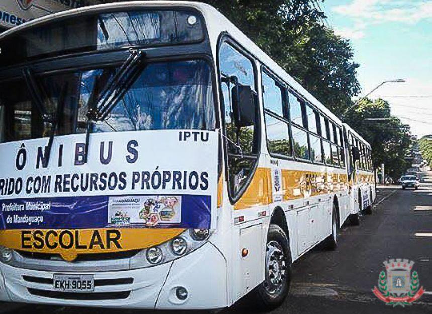 Novo ônibus escolar para Mandaguaçu