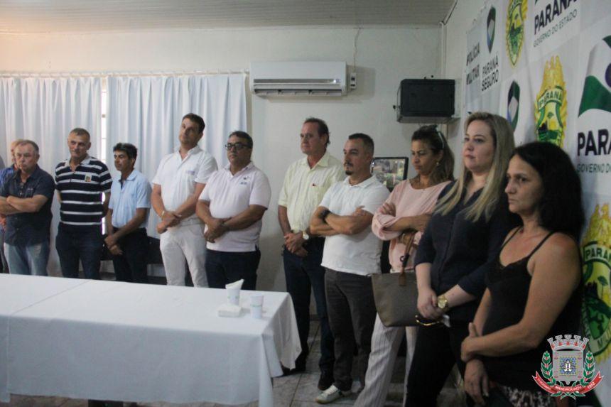Mandaguaçu recebe viatura para ROTAM